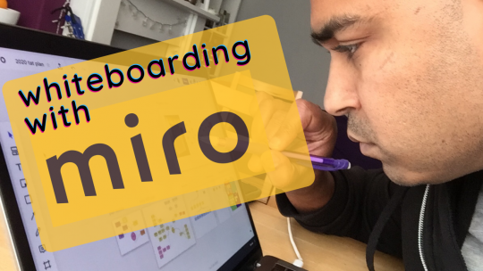 Productivity Hack - White-boarding with Miro