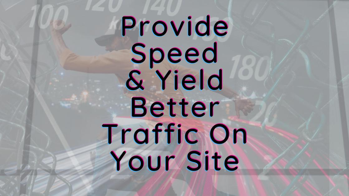 How to speed up your website with teaandtoast